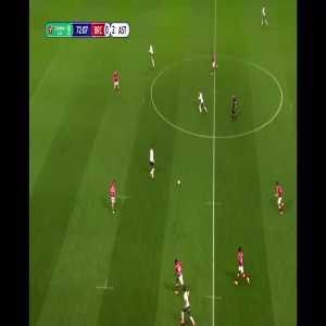 Bristol City 0-3 Aston Villa - Ollie Watkins 73'