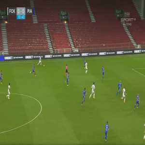FC København 1-0 Piast Gliwice - Kamil Wilczek 14'