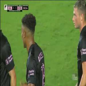 Inter Miami [1]-1 New York Red Bulls - Juan Agudelo 39'