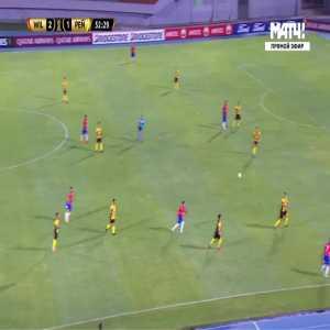 Jorge Wilstermann [3]-1 Penarol - Patricio Rodriguez 53'