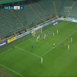 Legia Warszawa 2-0 Drita - Tomáš Pekhart 43'