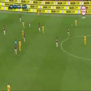 Milan 3-[2] Bodo/Glimt - Jens Hauge 56'