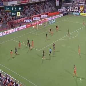 Shimizu S Pulse (1)-2 Urawa Reds - Teerasil Dangda goal