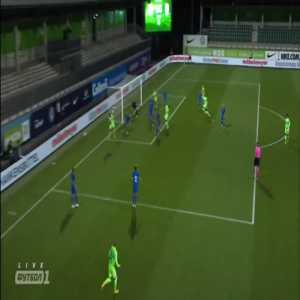 VfL Wolfsburg 1-0 Desna - Josuha Guilavogui 17'