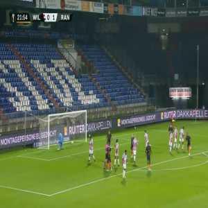 Willem II 0-[1] Rangers - Tavernier penalty 21'