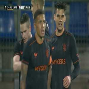 Willem II 0-[2] Rangers - Kent 25'