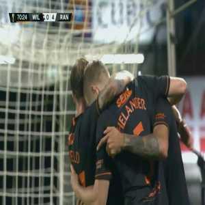 Willem II 0-[4] Rangers - Goldson 71'