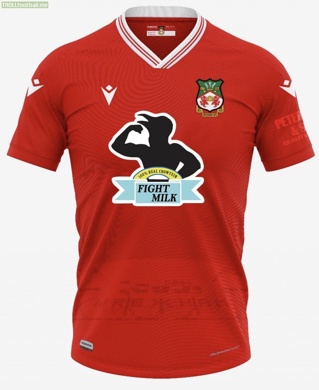 Wrexham's new home kit announced