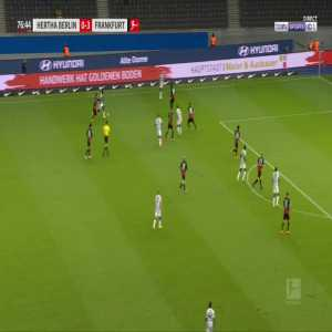 Hertha Berlin [1]-3 Eintracht Frankfurt - Martin Hinteregger OG 77'