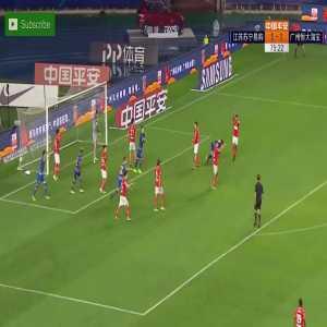 Jiangsu Suning (2)-1 Guangzhou Evergrande - Eder goal