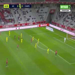 Lille 1-0 Nantes - Pallois (OG) 43'