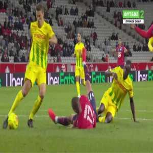 Lille 2-0 Nantes - Burak Yilmaz penalty 87'