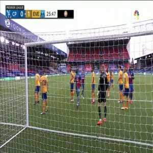 Crystal Palace [1]-1 Everton - Kouyaté 26'