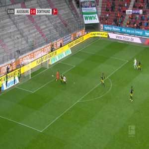Augsburg 2-0 Dortmund - Daniel Caligiuri 54'