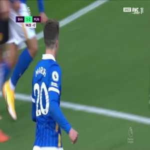 Brighton [2] - 2 Manchester United - Solly March 90+5'