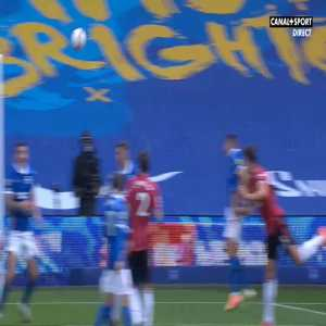 Brighton 2-[3] Manchester United - Bruno Fernandes penalty 90'+10' (+ call)