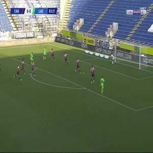 Cagliari 0-1 Lazio - Manuel Lazzari 4'