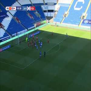 Cardiff City [1]-2 Reading: Tomlin