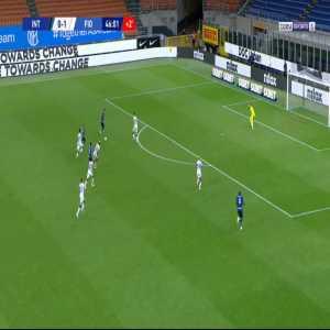 Inter [1]-1 Fiorentina - Lautaro Martinez 45'+2'