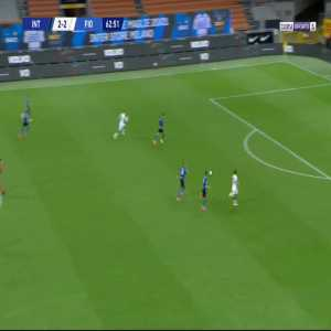 Inter 2-[3] Fiorentina - Federico Chiesa 63'