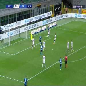 Inter [3]-3 Fiorentina - Romelu Lukaku 87'