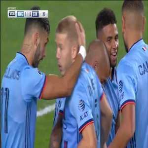 New York City 1-0 Cincinnati - Alexandru Ionut Mitrita 1'