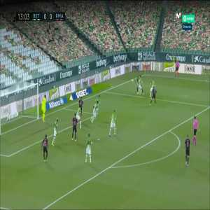 Real Betis 0 - [1] Real Madrid 13' Valverde