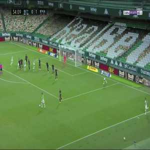 Real Betis [1] - 1 Real Madrid - Aissa Mandi 35'