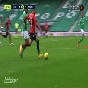 Saint-Etienne 0-2 Rennes - Sehrou Guirassy 54'