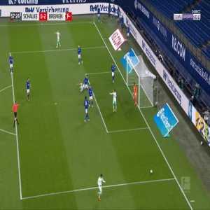 Schalke 0-3 Bremen - Niclas Fullkrug penalty 59'