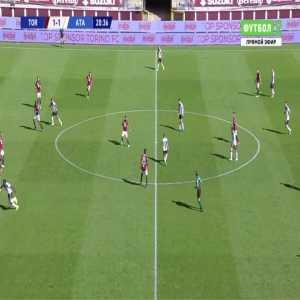 Torino 1-[2] Atalanta - Luis Muriel 21'