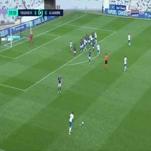 Toulouse 0-1 Auxerre - Mickael Le Bihan 58'