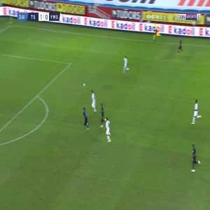 Trabzonspor 2-0 Yeni Malatyaspor - Benik Afobe 33'