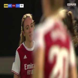 [Women] Arsenal [3] - 0 Tottenham - Lisa Evans 84'