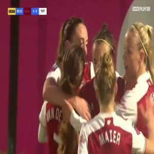[Women] Arsenal [4] - 0 Tottenham - Lisa Evans 90'