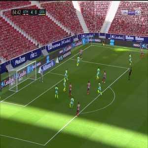 Atletico Madrid [5] - 0 Grenada - Luis Suarez 85'