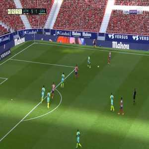 Atletico Madrid [6]-1 Granada - Luis Suarez 90'+3'