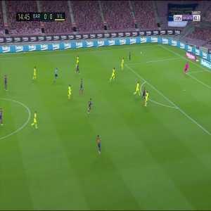 Barcelona [1] - 0 Villarreal - Ansu Fati 15'