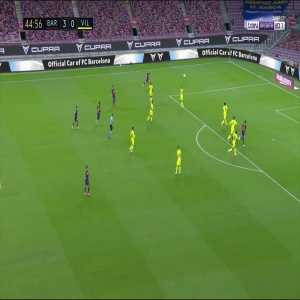 Barcelona [4] - 0 Villarreal - Pau Torres OG 45+1'