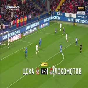 CSKA Moscow 0-1 Lokomotiv Moscow - Fedor Smolov 45'