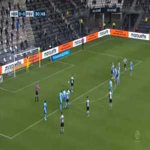 Heracles 1-0 PSV - Rai Vloet penalty 31'