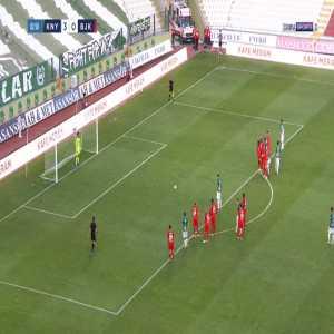 Konyaspor 4-0 Besiktas - Artem Kravets penalty 81'