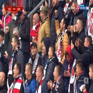 ŁKS Łódź 1-0 Sandecja Nowy Sącz - Łukasz Sekulski 31' (Polish I liga)