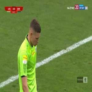 ŁKS Łódź 3-0 Sandecja Nowy Sącz - Łukasz Sekulski 60' hat-trick (Polish I liga)