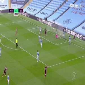 Manchester City 1 - [2] Leicester City - Jamie Vardy 53'