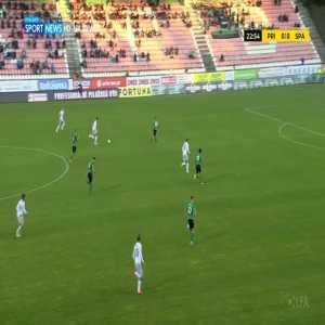 Příbram 0-1 Sparta Praha - Lukáš Juliš 23'