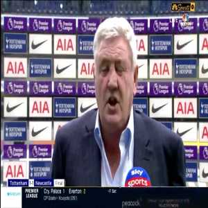 Steve Bruce post-match interview on the penalty decisions