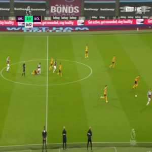 West Ham 1-0 Wolves - Jarrod Bowen 17'