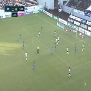 Sagan Tosu (3)-0 FC Tokyo - Yuto Uchida nice long shot goal