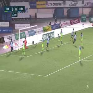Shonan Bellmare 0-(1) Kawasaki Frontale - Yu Kobayashi goal (nice team goal)
